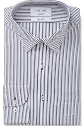 Van Heusen Van Heusen Classic Stripe on White Multiple Sleeve Lengths
