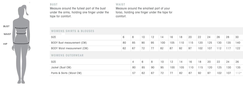 women clothes size chart | Size chart, Womens size chart, Chart