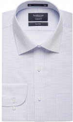 Van Heusen Van Heusen Mini Blue Check European Fit