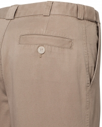 Bracks Bracks Flat Front Cotton Chino Pants
