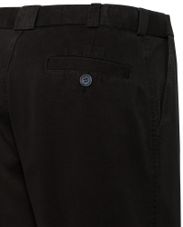 Bracks Bracks Black Flat Fronts Chino Pants