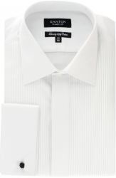 Ganton Ganton Pleat Front Dress Shirt