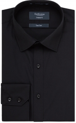 Van Heusen Van Heusen Plain Black or White European Fit