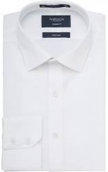 Van Heusen Van Heusen European Fit Plain White Shirt