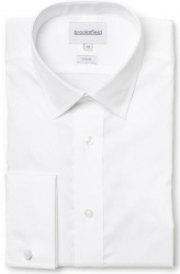 Brooksfield Brooksfield French Cuff White Shirt