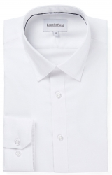 Brooksfield Brooksfield Regular Fit White Shirt