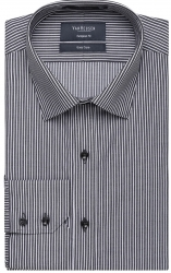 Van Heusen Van Huesen Stripe Shirt European Fit