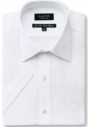 Ganton Ganton White Short Sleeve Shirt