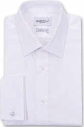Brooksfield Brooksfield French Cuff Slim Fit