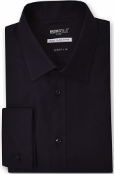 Brooksfield Brooksfield Luxe French Cuff Slim Fit