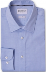 Brooksfield Brooksfield 100% Cotton Shirt Regular Fit