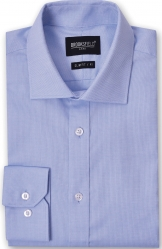 Brooksfield Brooksfield Oxford Weave Slim Fit Shirt