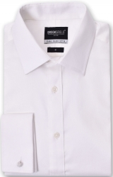 Brooksfiield Brooksfield French Cuff Regular Fit Shirt