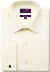 Ganton Ganton Cream Shirt French Cuff