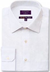 Ganton Ganton Gold Label City Fit White Shirt