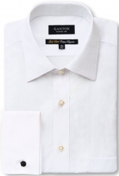 Ganton Ganton French Cuff White Shirt
