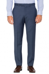 Pierre Cardin Pierre Cardin Blue Slim Fit Business Trousers