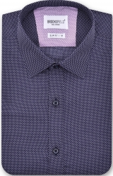 Brooksfield Brooksfield 100% Cotton Spot Design Slim Fit