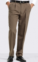 Bracks Bracks Double Pleat Classic Fit Mens Business Trouser