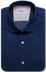 Brooksfield Brooksfield Shirt in 100% Cotton Micro Dot Design Slim Fit