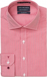 Van Heusen Van Heusen Fine Stripe Pure Cotton Euro-Tailed Fit