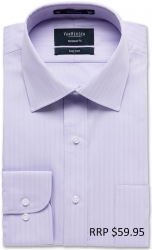 Van Heusen Van Heusen Herringbone Self Stripe European Fit
