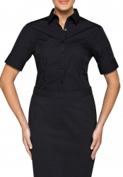 Van Heusen Van Heusen Plain Short Sleeve Womens Business Shirts