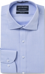 Van Heusen Van Heusen 60% Cotton Micro Herringbone Euro Tailoured Fit