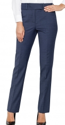 Van Heusen Blue Wool Mix Suit Pant Modern Classic Fit