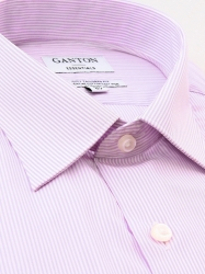 Ganton Ganton Essentials Pink Stripe City Tailored Fit