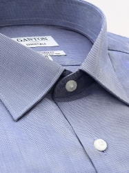 Ganton Ganton Essentials Navy/White City Tailored Fit