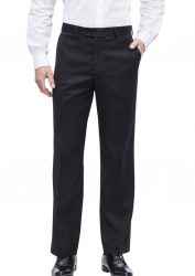 Bracks Bracks Flat Front Business Pants