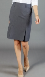 Gloweave Washable Box Pleat Skirt with Stretch