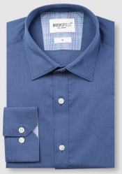 Brooksfield Brooksfield Cotton Textured Shirt
