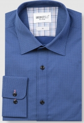 Brooksfield Brooksfield Mini Square Print Cotton Stretch