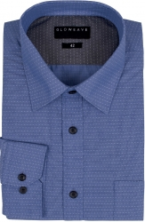 Gloweave Dot Dobby Easy Care Shirt Contemporary Fit