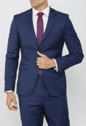 Calvin Klein Calvin Klein Pure Wool Blue Suit Jacket