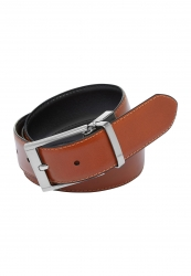 City Club Mens Reversible Leather Belt