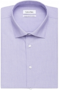 <p>100%&nbsp; Cotton End on End Weave in Lavender in <strong>Slim Fit</strong></p>