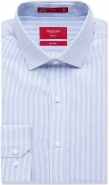 100% Cotton Fine Stripe Spread Collar No Pocket Slim Fit