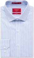 100% Cotton Fine Stripe Spread Collar No Pocket Slim Fit