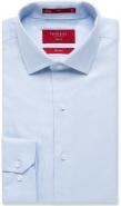 <p>100% Cotton Oxford Weave No Pocket Blue or White Slim Fit</p>