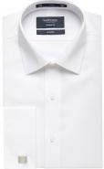 <p>100% Cotton Poplin Weave in White, French Cuff,  European Fit</p>