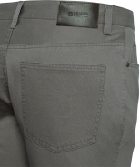 5 Pocket Jean Style Pant 100% Cotton Taupe Contemporary Fit