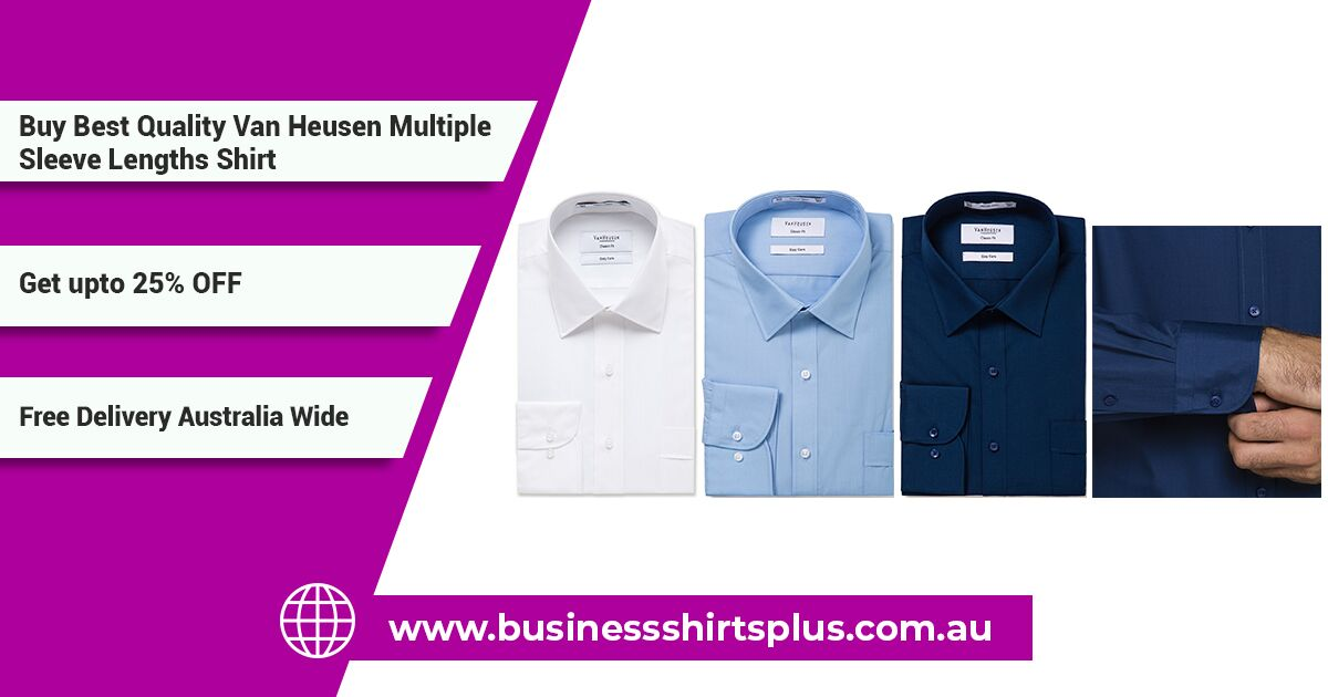 van heusen business shirt