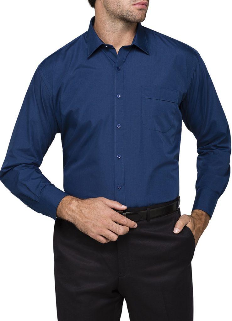 big men business shirt
