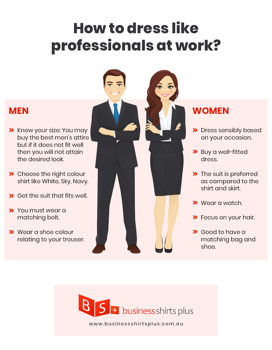How to dress like professionals
