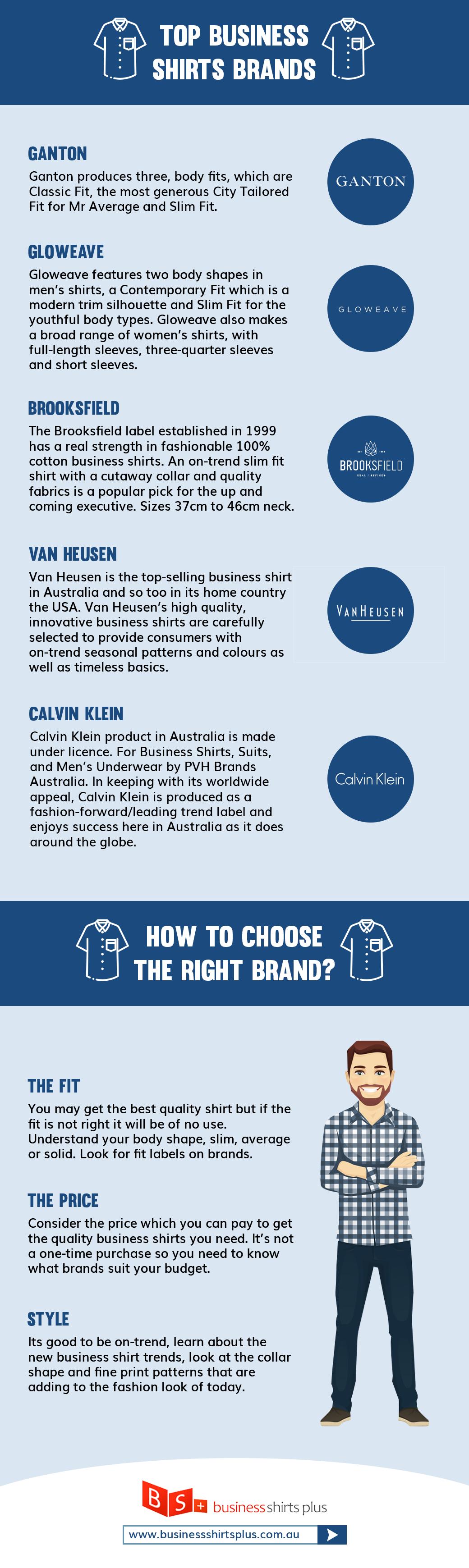 top business shirt brands